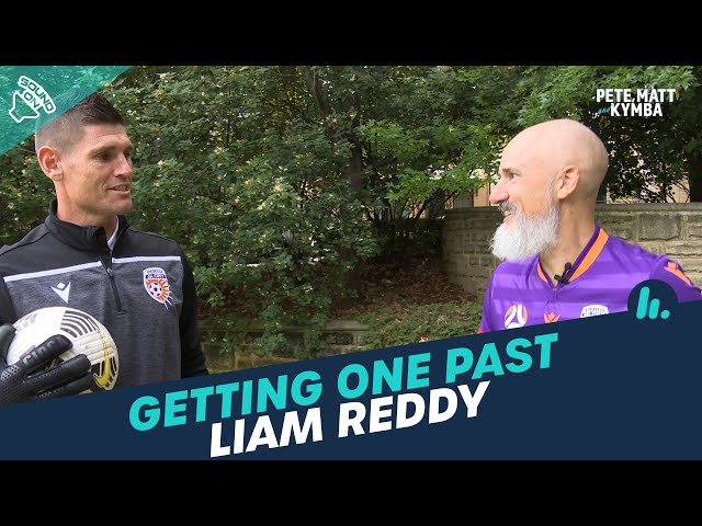 Getting One Past Perth Glory's Liam Reddy | Pete, Matt and Kymba | Mix94.5