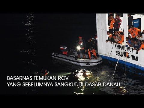 Berhasil !!! Basarnas temukan ROV yang sebelumnya tersangkut