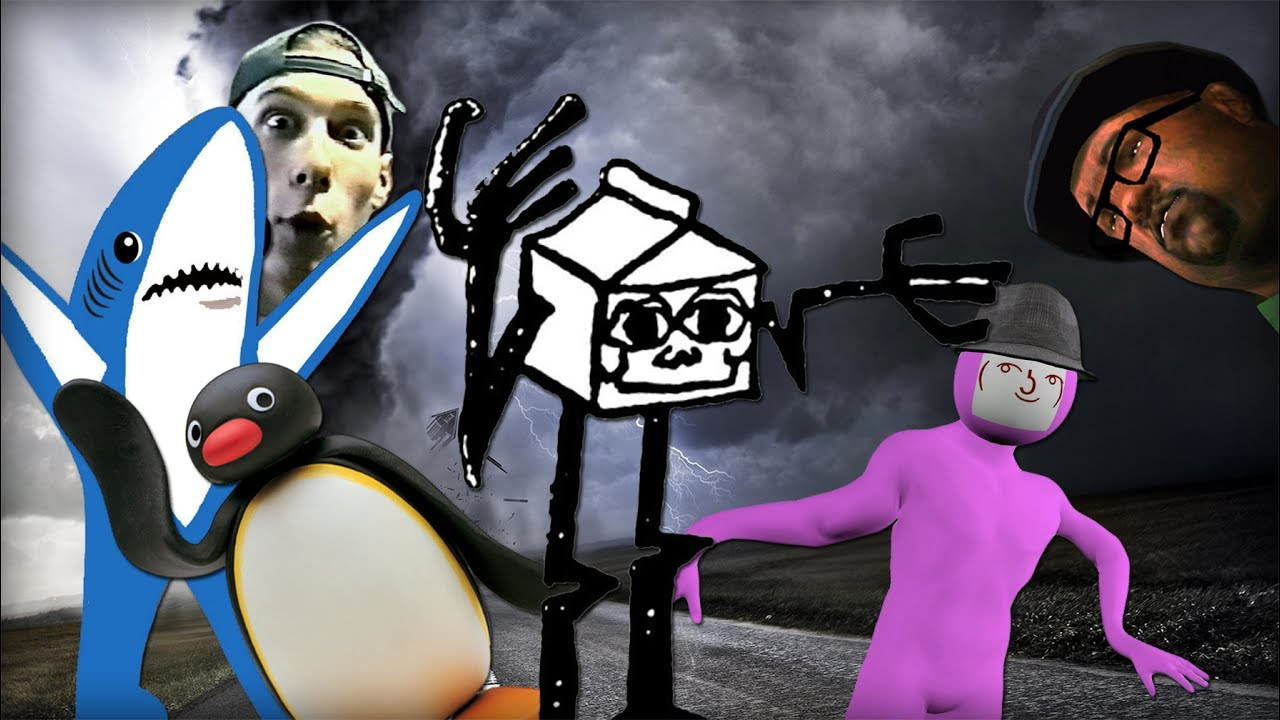 IT'S SCARY OUTSIDE - Gmod Ragdoll Insanity by EndyPlays