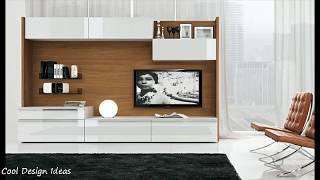 Modern TV Cabinet Wall Units Designs Ideas