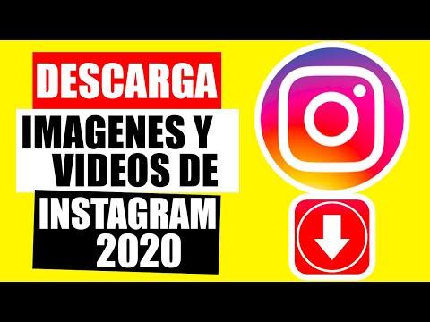 ✅Como DESCARGAR IMAGENES y VIDEOS de INSTAGRAM EN PC 2020