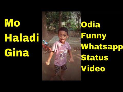 Mo Haladi Gina Odia Funny Whatsapp Status || A For Apple Apple || Bajrangi || Ft. Subham