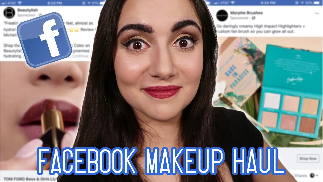 [VIDEO] - I Bought A Full Face Of Makeup From Facebook Ads 8