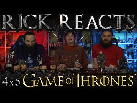 "RICK REACTS: Game of Thrones 4x5 ""First of His Name"""