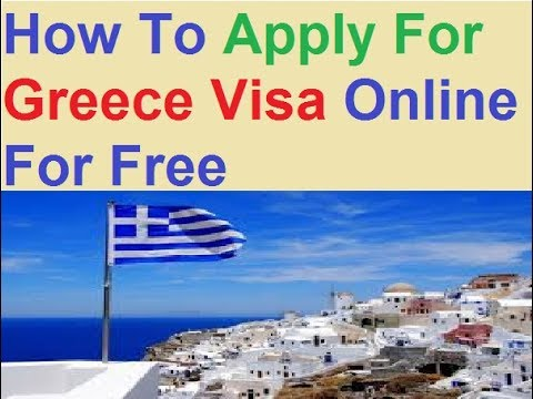 Greece Visa Application Form