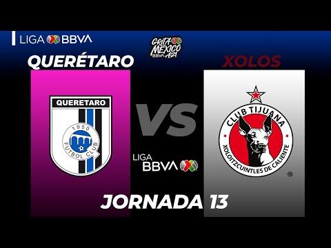 G.B. Queretaro Club Tijuana Goals And Highlights