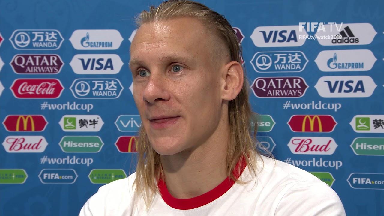 Domagoj Vida Post Match Interview Match 62