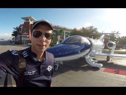How to fly a HONDA JET in 15 minutes HD w/ATC Audio KFXE to KORL FULL FLIGHT
