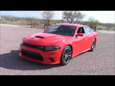 2016/2017 Dodge Charger ScatPack: Full Performance & Fuel Economy Drive