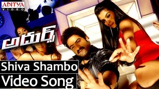 Shambo Shiva Shambo Full Video Song ||  Adhurs Movie Video Songs || Jr.NTR, Nayanatara, Sheela