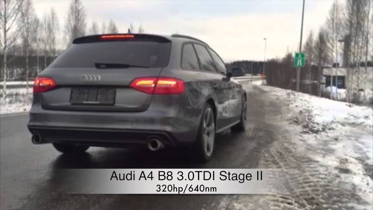 audi a4 b8 3 0tdi stage2 youtube. Black Bedroom Furniture Sets. Home Design Ideas
