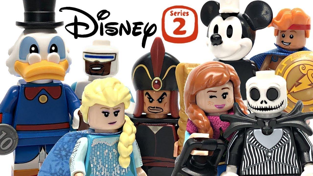 LEGO Disney Minifigures Series 2 review! 2019 set 71024!