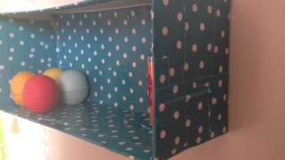 How To Make A Shelf Out Of A Shoebox!