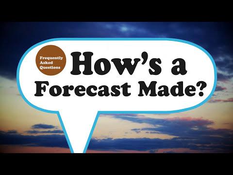 FAQ: How's a Forecast Made?