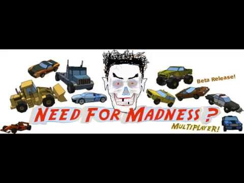 Need for Madness Multiplayer {Beta} (Website) - Music: Select your Car, Select Stage