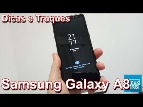 Samsung Galaxy A8 - Dicas e truques
