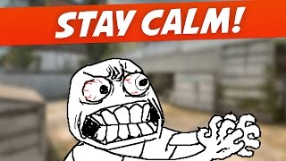 How to Stay Calm & Focused - CS:GO