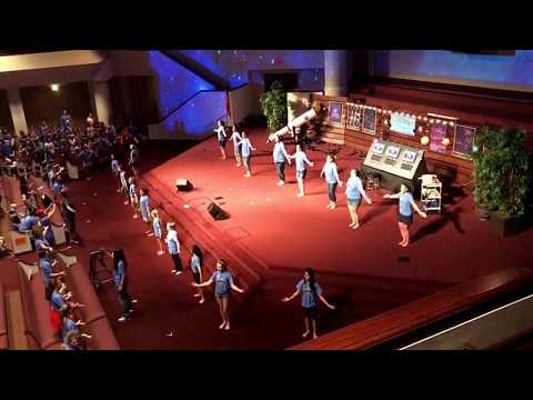 FBC Allen 2017 VBS Music Team (Balcony View) - Over the Moon (Day 3 Song)