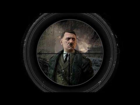 Kill Hitler! - Assassinate the Führer - Sniper Elite V2 DLC - Killing Adolf Hitler (Nazi Leader)