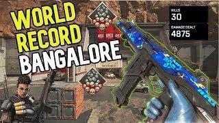 WORLD RECORD! 30 SOLO KILLS BANGALORE - APEX LEGENDS