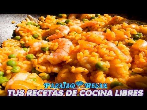 Recetas Cocina Mediterranea | Dm Paella Andaluza De Marisco Casera Recetas De Cocina Faciles Y