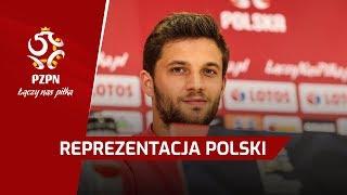 Konferencja przed meczem z Portugalią | Brzęczek, Bereszyński | Chorzów, 10.10.2018