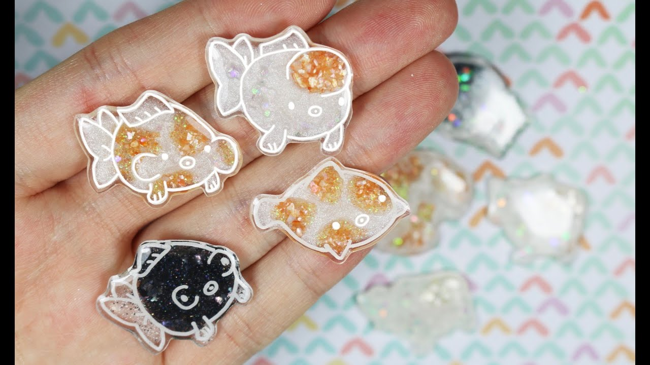 How To Color Shrink Plastic Collab With Glitters Shells