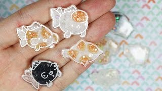 [How to Color Shrink Plastic Collab] With Glitters/Shells/PearlEx/UV Resin ft. Atelier Lorien