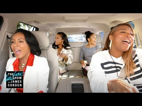 Thumbnail: Carpool Karaoke: The Series - Queen Latifah & Jada Pinkett Smith Preview