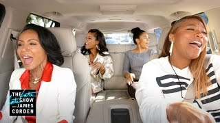 carpool karaoke the series queen latifah jada pinkett smith preview