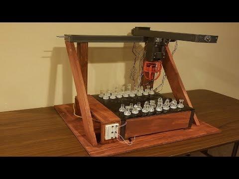 Homemade Chess Robot Showcase