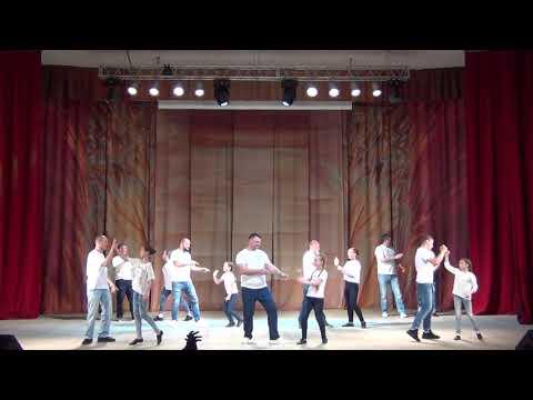 """Папины дочки. Отчётный концерт ансамбля танца""""Вдохновение"""". Калуга."""