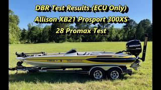 Fastbass Marine TV -- 300XS DBR Test (Allison XB21)