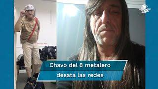 El Chavo del 8 metalero se viste de Chespirito y se vuelve viral