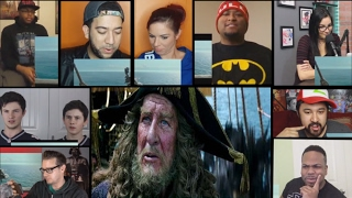 Pirates of the Caribbean: Dead Men Tell No Tales Ext. Superbowl TV Spot (2017) Reactions Mashup