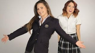 Women Try Their Old Catholic School Uniforms
