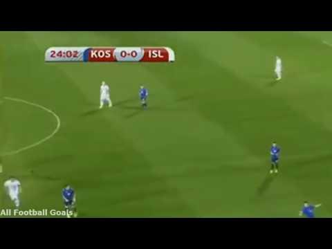 Kosovo vs Island 1:2 #wmquali2018 ⚽