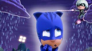 Heroes en Pijamas Capitulos Completos | Gato en la lluvia Compilación | Dibujos Animados