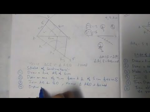Chapter 11 Exercise 11.1 (Q2) Constructions of maths class 10 NCERT