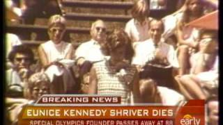 Eunice Kennedy Shriver Dies