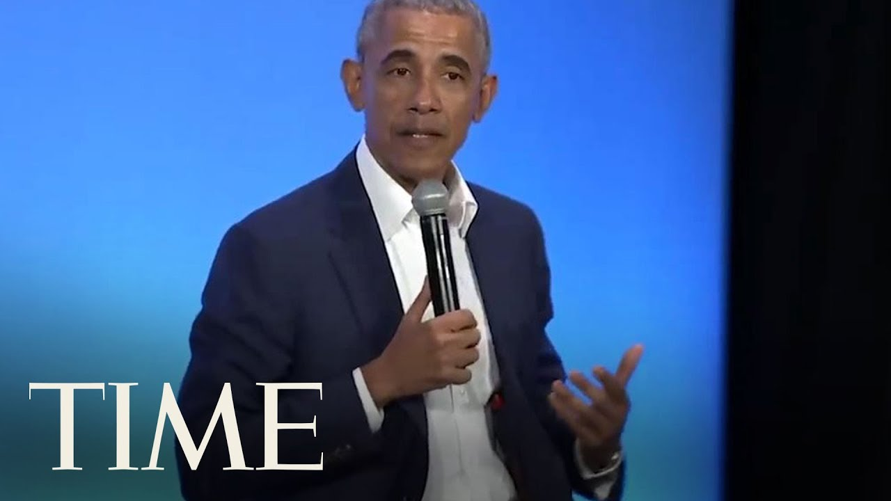 Barack Obama Manages To Work In Michelle Obama In A Discussion About 'Being A Man'   TIME