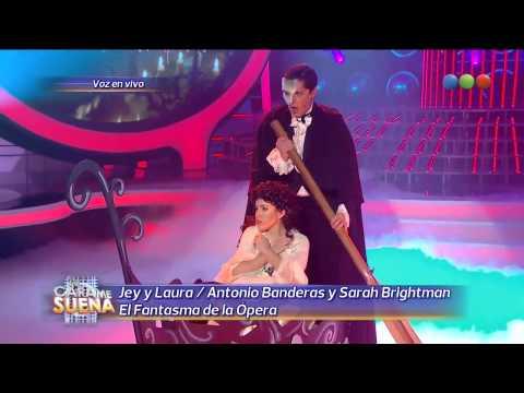 Laura Esquivel y Jey Mammon son Sarah Brightman y Antonio Banderas - Tu Cara Me Suena (Gala 10)