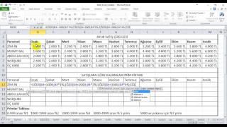 İleri Excel ve Makro VBA Eğitimi - İç İçe Eğer Kullanma