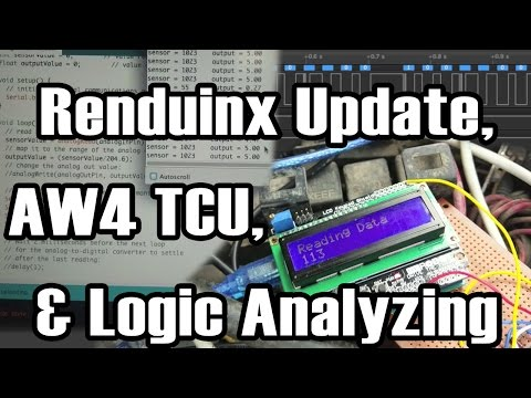 Renduinix Progress, Logic Analyzing, and AW-4 TCU Comms