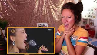 Vocal Coach REACTS to AMERICANS VS KOREANS - High Belt Notes Singers