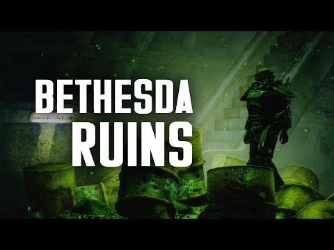 Bethesda Ruins, Underworks, the Raider Shack, & Stabhappy - Fallout 3 Lore