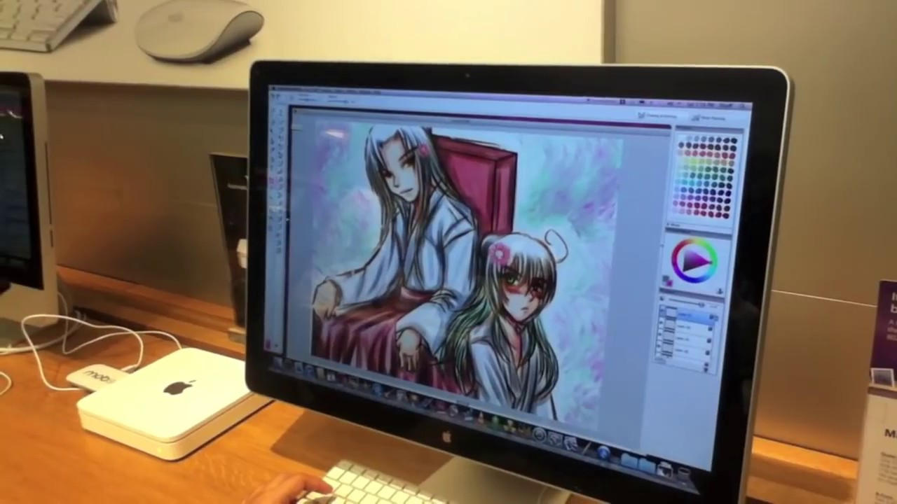Bamboo drawing tablet tutorial