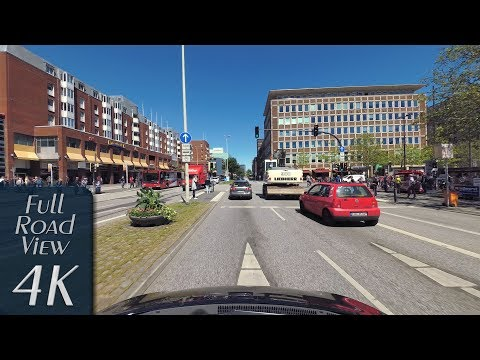 Kiel, Germany: Innenstadt, Vorstadt, Sophienblatt - 4K (UHD/2160p/60p)