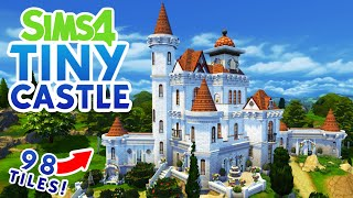 Tiny Castle - Base Game Tiny House | Sims 4 Speed Build