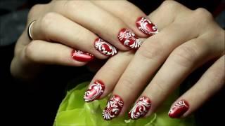 Маникюр,гель-лак, дизайн ногтей, рисунки на ногтях в пион студио